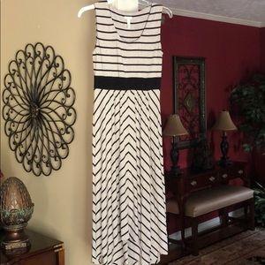 Soma knit sleeveless summer dress.